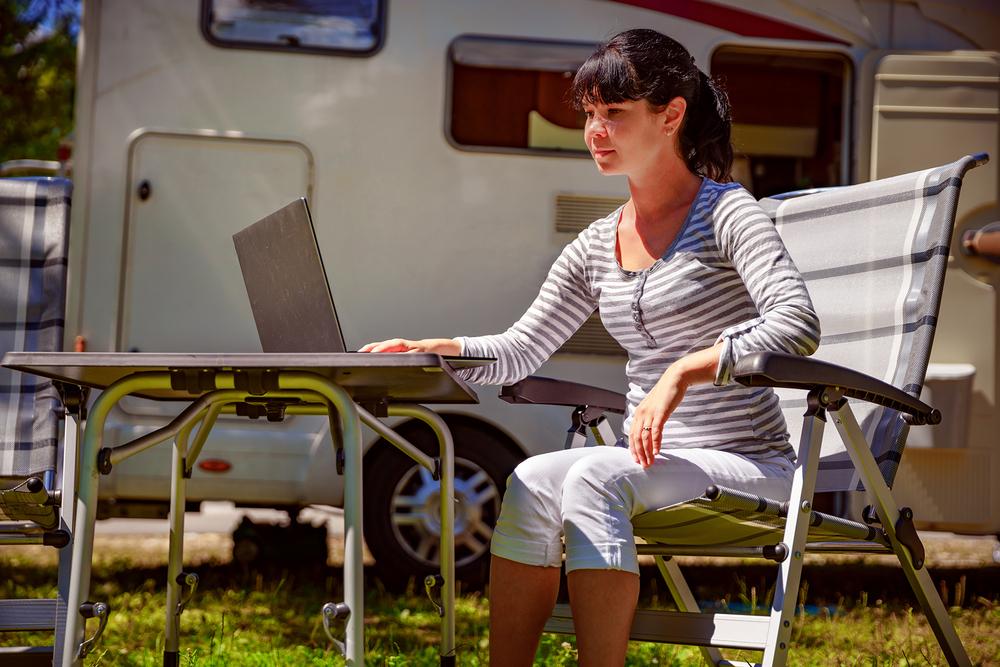 Top campsites to get your internet fix!