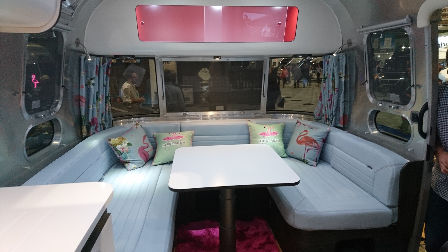 Airstream caravan interior