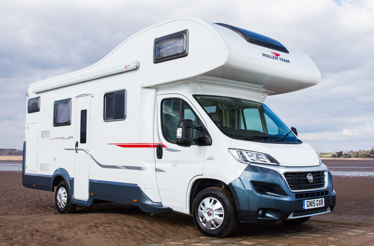 Modern VW Campers Fiat Motorhomes For Hire